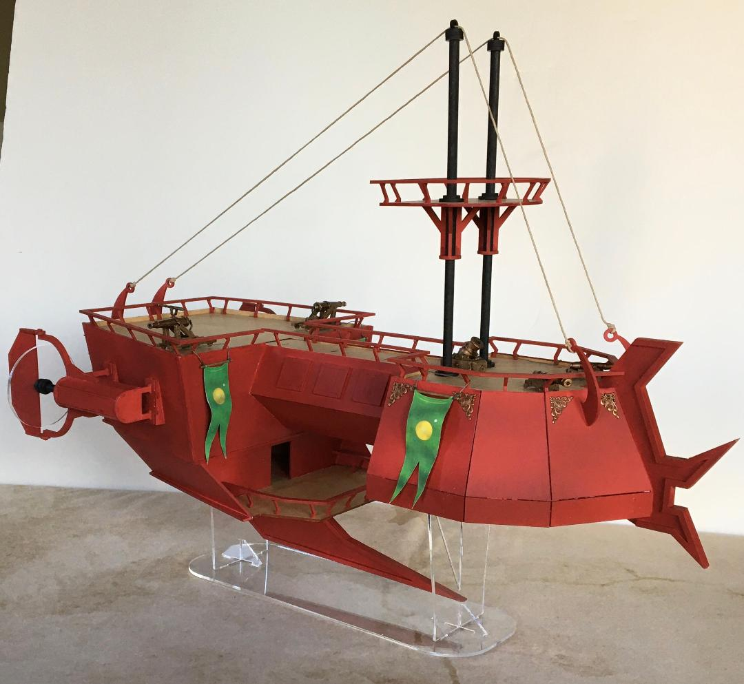 Martian Skyboat Cruiser